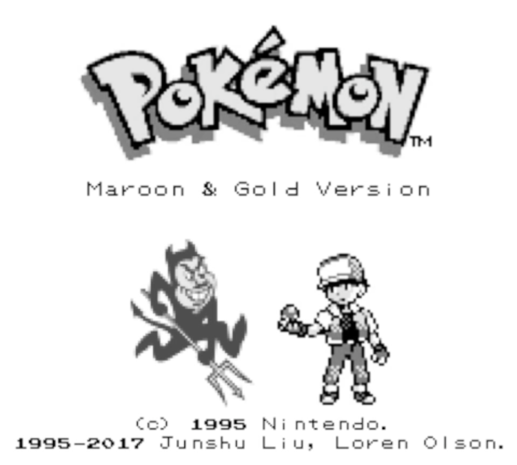 Pokemon Maroon and Gold Cover